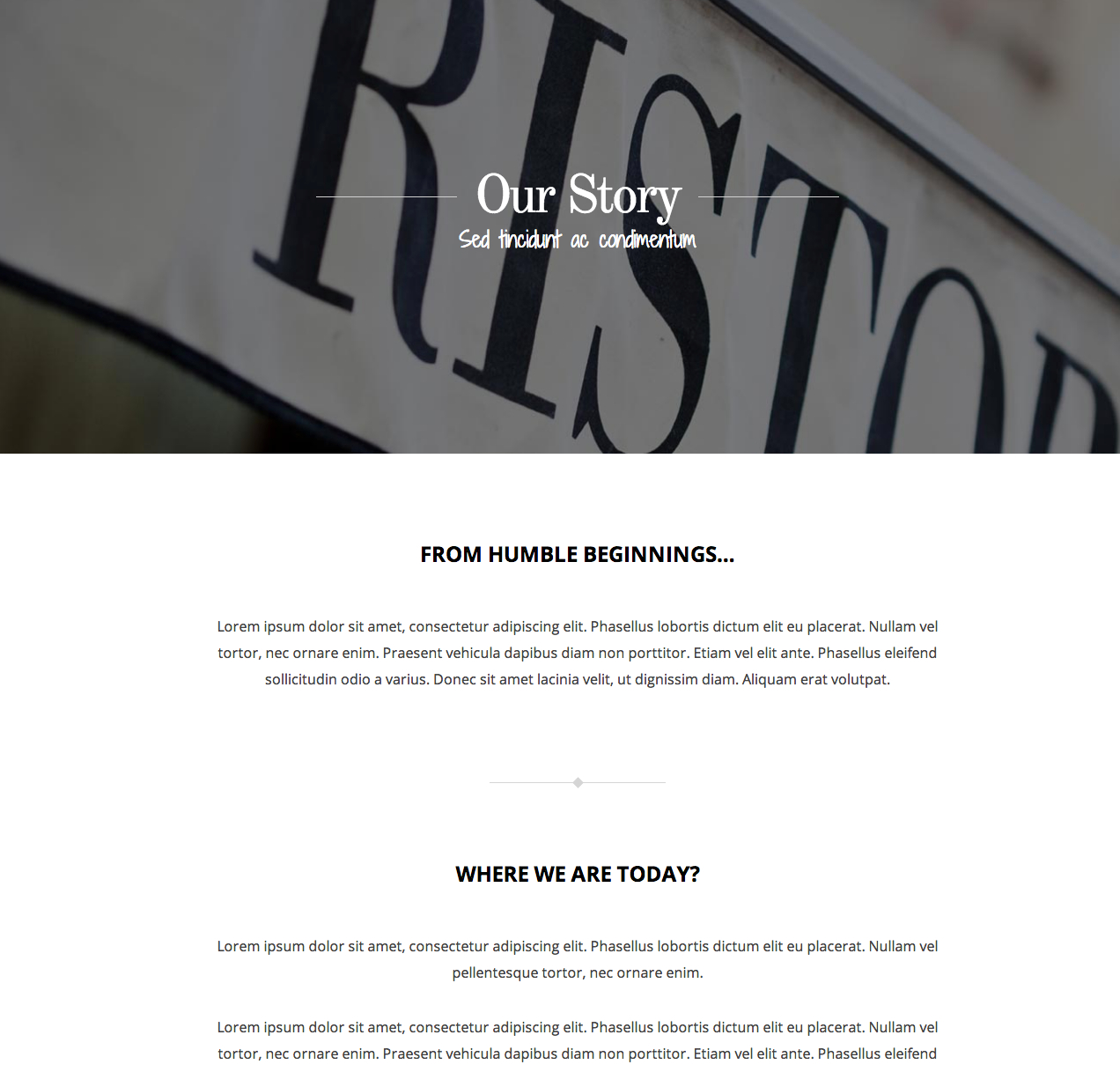 one-page-layout